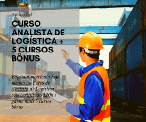 Curso Analista de Logística + 5 Cursos Bônus